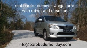 rent car with Borobudur Holiday